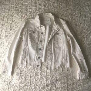 BLANKNYC White Denim Jacket